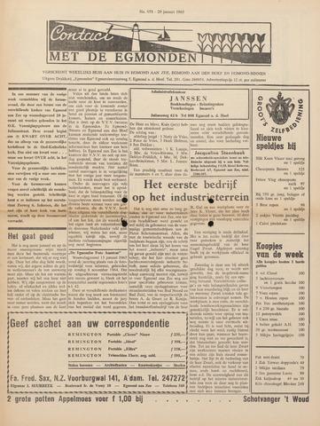 Contact met de Egmonden 1965-01-21