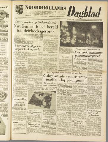 Noordhollands Dagblad : dagblad voor Alkmaar en omgeving 1961-12-21