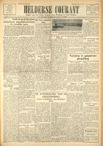Heldersche Courant 1947-11-29