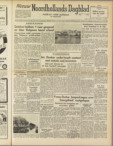 Nieuw Noordhollandsch Dagblad : voor Alkmaar en omgeving 1952-08-08