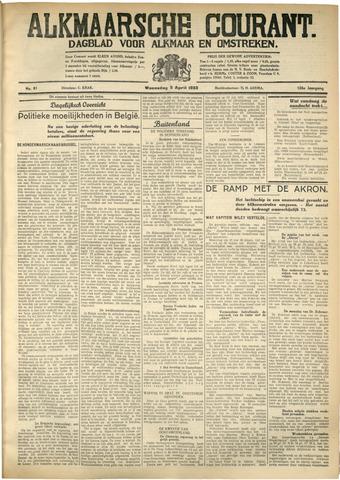 Alkmaarsche Courant 1933-04-05