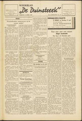 De Duinstreek 1947-04-11