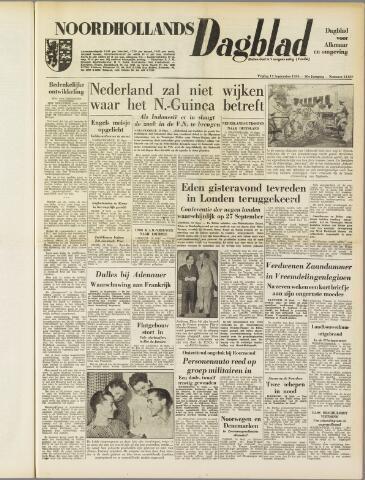Noordhollands Dagblad : dagblad voor Alkmaar en omgeving 1954-09-17