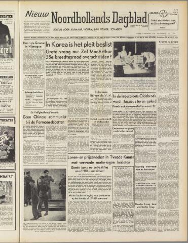 Nieuw Noordhollandsch Dagblad : voor Alkmaar en omgeving 1950-09-29