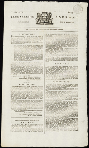 Alkmaarsche Courant 1817-08-18