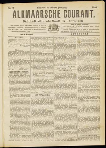 Alkmaarsche Courant 1906-02-06