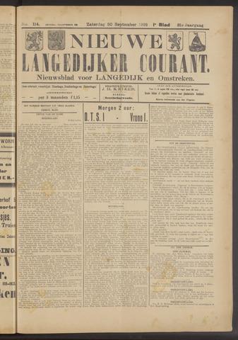 Nieuwe Langedijker Courant 1922-09-30