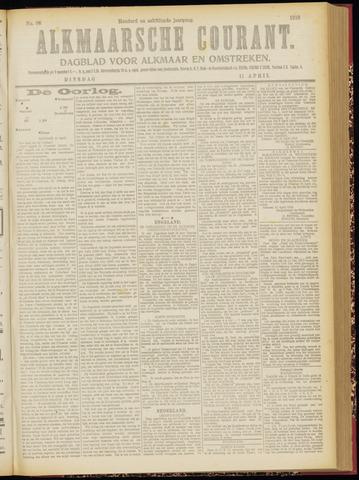 Alkmaarsche Courant 1916-04-11