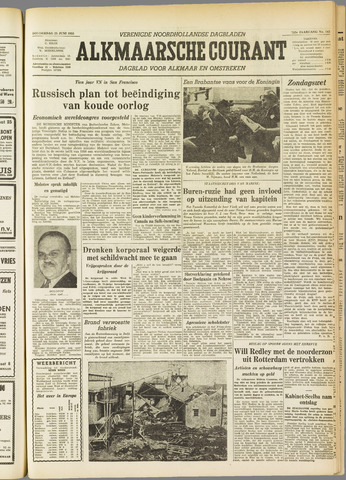 Alkmaarsche Courant 1955-06-23