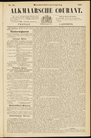 Alkmaarsche Courant 1898-08-05