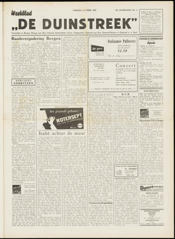 De Duinstreek 1958-02-14