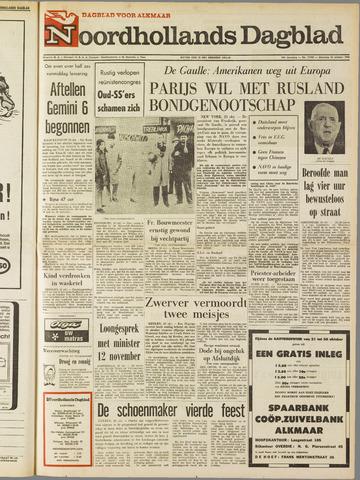 Noordhollands Dagblad : dagblad voor Alkmaar en omgeving 1965-10-25