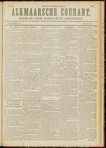 Alkmaarsche Courant 1918-06-20