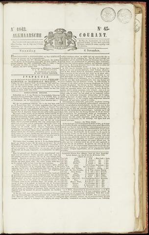 Alkmaarsche Courant 1843-11-06