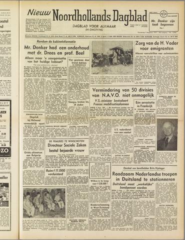 Nieuw Noordhollandsch Dagblad : voor Alkmaar en omgeving 1952-08-07