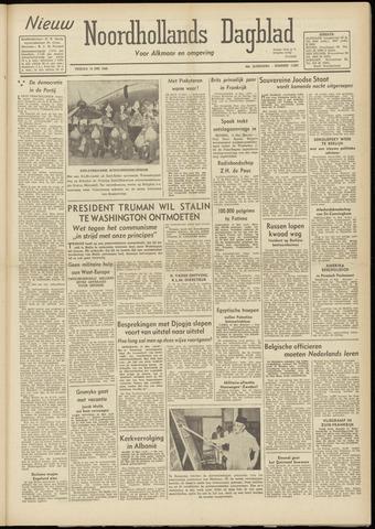 Nieuw Noordhollandsch Dagblad : voor Alkmaar en omgeving 1948-05-14