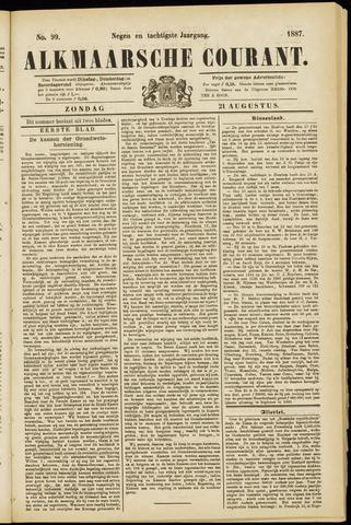 Alkmaarsche Courant 1887-08-21