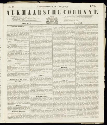Alkmaarsche Courant 1870-06-05