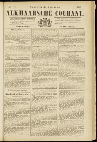 Alkmaarsche Courant 1888-09-26