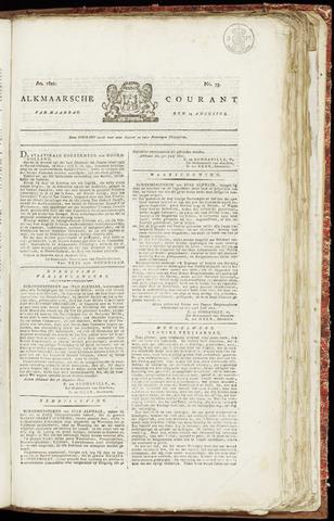 Alkmaarsche Courant 1821-08-13