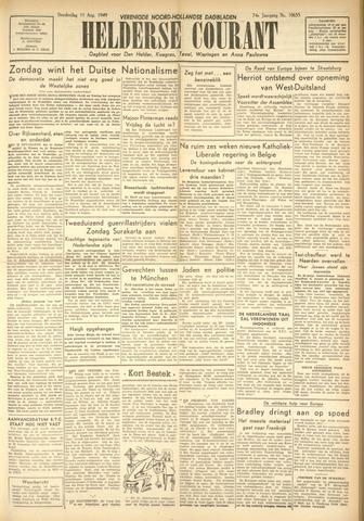 Heldersche Courant 1949-08-11