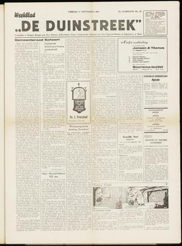 De Duinstreek 1963-09-27