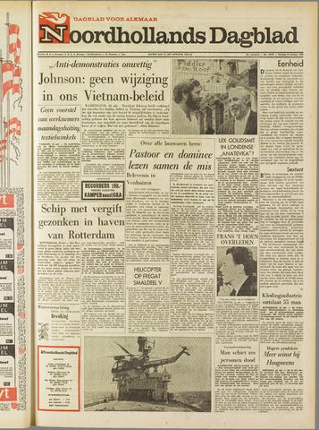 Noordhollands Dagblad : dagblad voor Alkmaar en omgeving 1967-10-24