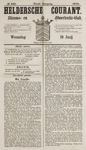 Heldersche Courant 1870-06-29