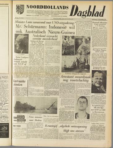 Noordhollands Dagblad : dagblad voor Alkmaar en omgeving 1961-11-08