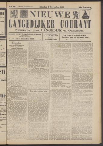 Nieuwe Langedijker Courant 1925-11-03