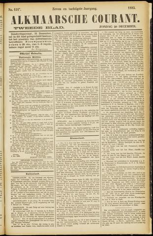 Alkmaarsche Courant 1885-12-20