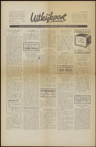 Uitkijkpost : nieuwsblad voor Heiloo e.o. 1958-06-20