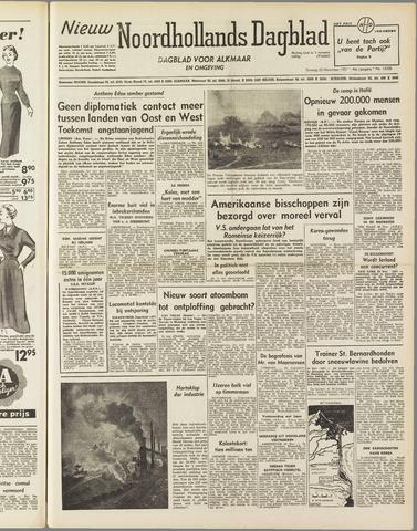 Nieuw Noordhollandsch Dagblad : voor Alkmaar en omgeving 1951-11-20