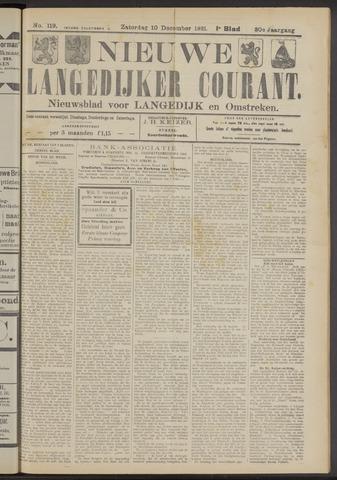 Nieuwe Langedijker Courant 1921-12-10