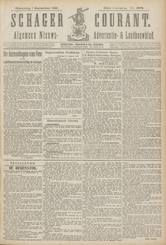 Schager Courant 1920-09-01