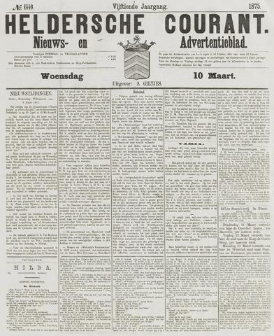 Heldersche Courant 1875-03-10