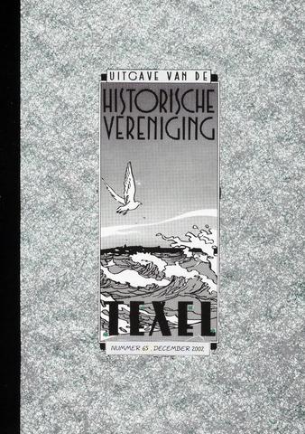 Uitgave Historische Vereniging Texel 2002-12-01