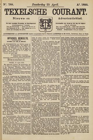 Texelsche Courant 1895-04-25