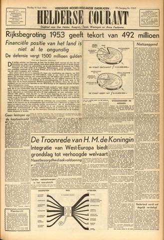 Heldersche Courant 1952-09-16