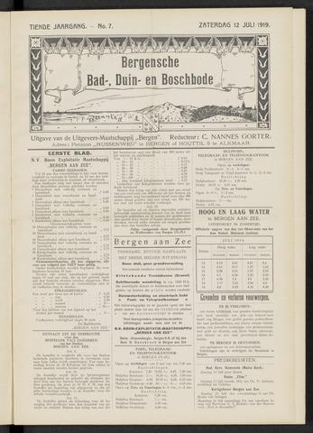 Bergensche bad-, duin- en boschbode 1919-07-12