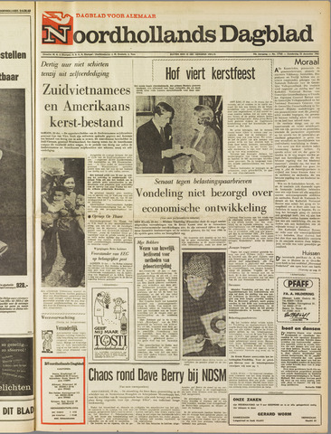 Noordhollands Dagblad : dagblad voor Alkmaar en omgeving 1965-12-23
