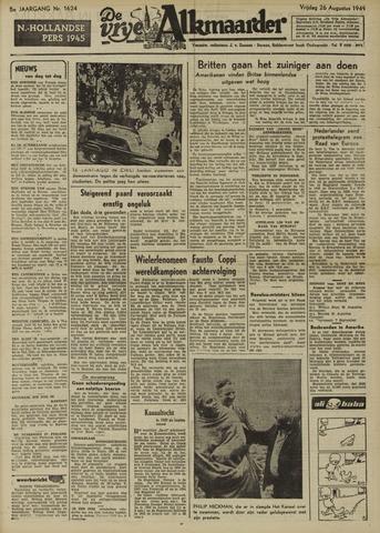 De Vrije Alkmaarder 1949-08-26