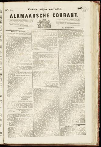 Alkmaarsche Courant 1865-12-17