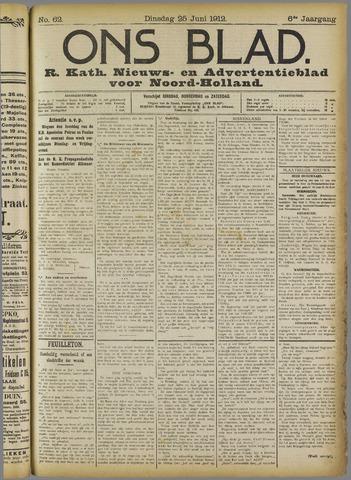Ons Blad : katholiek nieuwsblad voor N-H 1912-06-25