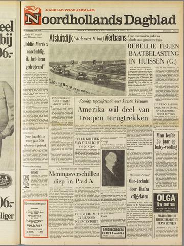 Noordhollands Dagblad : dagblad voor Alkmaar en omgeving 1969-06-05