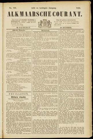 Alkmaarsche Courant 1886-10-20