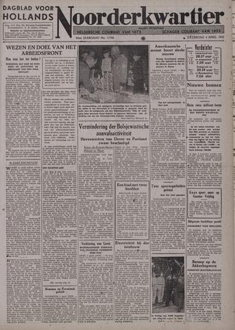 Dagblad voor Hollands Noorderkwartier 1942-04-04