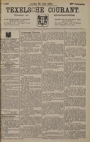 Texelsche Courant 1915-07-25