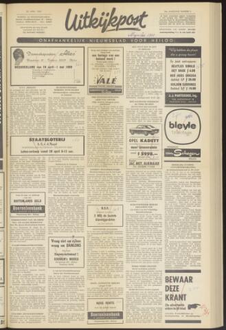 Uitkijkpost : nieuwsblad voor Heiloo e.o. 1969-04-23