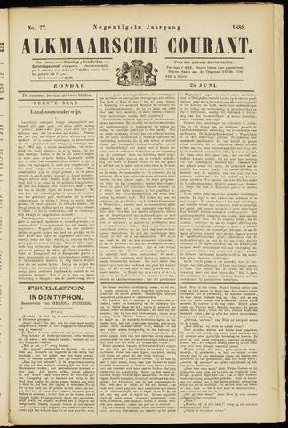 Alkmaarsche Courant 1888-06-24